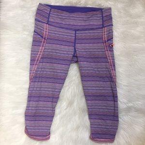 Lululemon Top Speed Crop Pants. Size 8